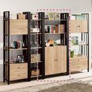 【森可家居】鋼尼爾3x7尺下門書櫃(編號3) 8ZX835-3 書架 展示櫃 開放式 置物收納