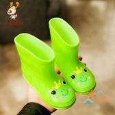 兒童雨鞋1-6歲兒童雨鞋男童2防滑四季3通用短筒嬰幼4小童5女雨靴寶寶水鞋七夕情人節