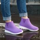 新品春夏季可愛短筒外穿防滑雨鞋女士成人防水鞋韓版時尚雨靴膠鞋 每日下殺NMS