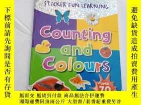 二手書博民逛書店counting罕見and colours.Y12498