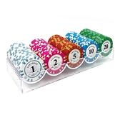 籌碼幣水晶澳門混裝圓形雙面麻將機籌碼娛樂代幣棋牌室麻將室塑。 米家