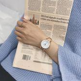 手錶女學生韓版簡約時尚休閒大氣手鐲式手鍊手錶石英手錶女手錶WY【交換禮物免運】