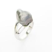 JEWELRY 珍珠造型18白K金戒指  【二手名牌BRAND OFF】