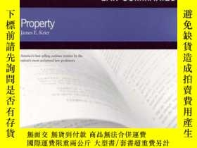 二手書博民逛書店Gilbert罕見Law Summaries On Property, 17thY256260 James K