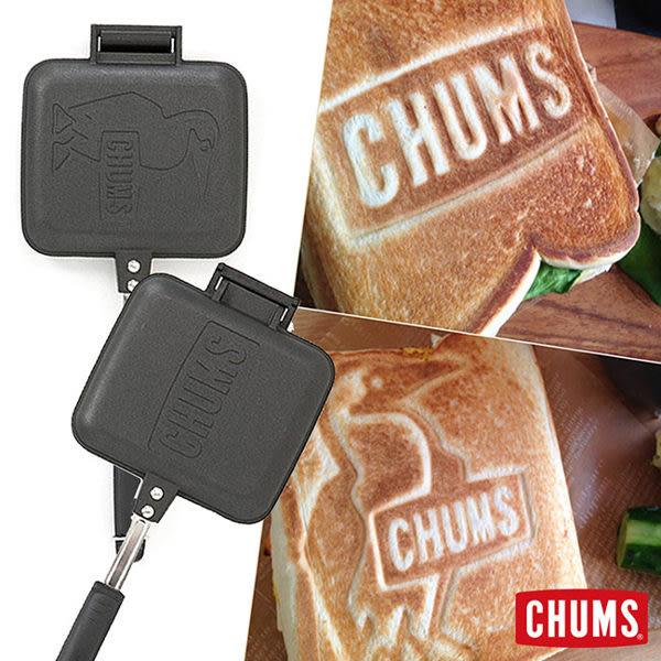 【日本製】CHUMS 三明治烤盤 雙面不同LOGO 可烤鬆餅 CH6210390000