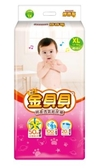 頂級金貝貝棉柔透氣紙尿褲 XL號 (44片x4包/箱)【艾保康】