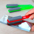 家用手持磨刀器多功能磨刀石雙面磨菜刀磨剪...