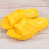 男女款 牛頭牌 NewBuffalo 土豆星二代 MIT防滑防水高彈力 厚底拖鞋 土豆星鞋 海灘拖鞋 黃色 59鞋廊