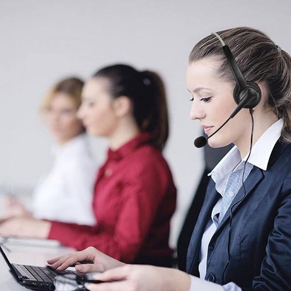 瑞通電話RS8012專用電話耳機 推薦辦公室 總機 行銷 外商 客服中心 公家機關使用