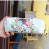 san-x可愛角落生物墻角生物卡通pu筆袋學生文具收納袋