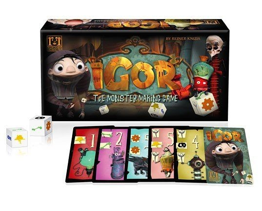 【R&R GAMES】異想天開:就是愛作怪 IGOR : The Monster Making Game 桌上遊戲