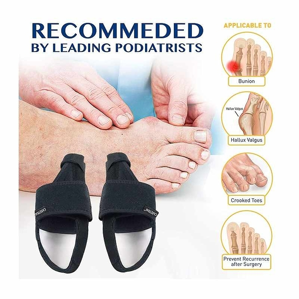 Caretras拇囊矯正器 拇指外翻 Bunion Corrector, Orthopedic Bunion Splint [2美國直購]