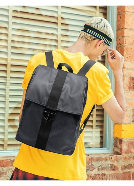 FINDSENSE品牌 韓國 新款  FIN韓國出品 包款 時尚 男士 防水 簡約 旅行背包 雙肩包 學生 書包 潮流