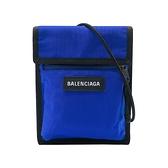 【台中米蘭站】全新品 Balenciaga Explorer Pouch尼龍斜背包(532298-寶藍)