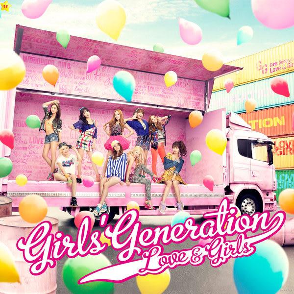 少女時代 Love & Girls 初回限量盤 CD附DVD (音樂影片購)