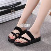 拖鞋女夏時尚外穿厚底百搭個性可愛新款室內可愛韓版防滑洗澡