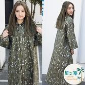 大人雨衣 雨衣男女成人韓版時尚長版雨衣雨披戶外男單人徒步學生雨衣 風之海