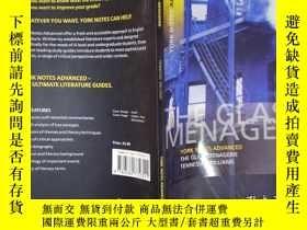 二手書博民逛書店The罕見Glass Menagerie(詳見圖)Y6583 T