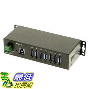 [美國直購] CoolGear USB 3.0 7-Port USBG-7U3ML Industrial Hub 工業用 集線器 12V 5A充電器