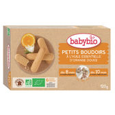 BABYBIO 生機初牙餅乾/磨牙餅120g-法國原裝進口10個月以上嬰幼兒專屬副食品