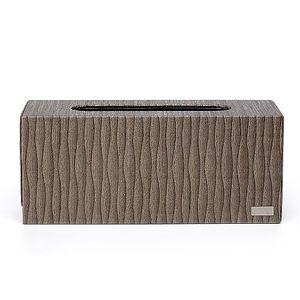 精品飯店款-擦手紙巾專用盒-桌上型-(KENZO東方咖啡色系)