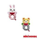 MIKI HOUSE 可愛普奇熊 舞颯兔嬰兒手搖鈴