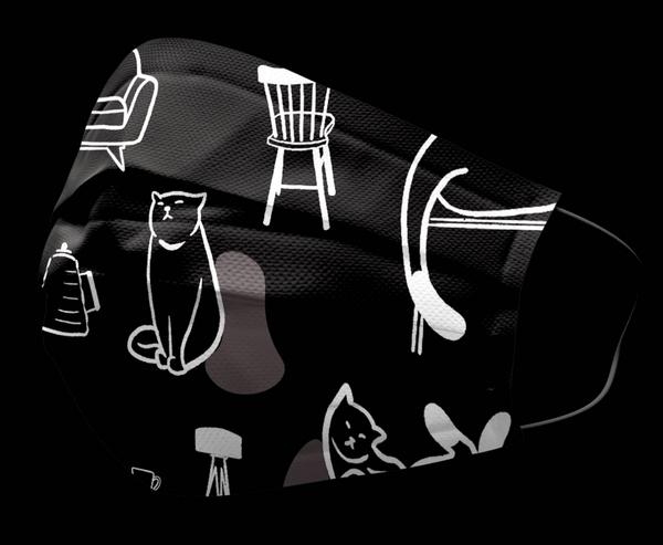 登登登~等【現貨】安博氏 善存 優美特 醫用平面口罩 貓咪系列 成人/兒童