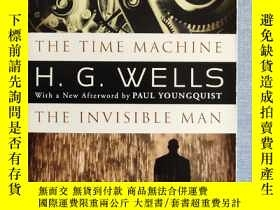 二手書博民逛書店《The罕見Time Machine & the Invisib