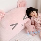 靠墊 卡通床頭靠墊可愛兒童抱枕床靠背墊韓式公主靠枕榻榻米軟包大靠背 星隕閣