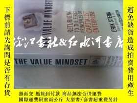 二手書博民逛書店原版精裝the罕見value mindset: Returnin