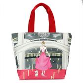 Reiko Aoki 青木禮子Pink-dress彩繪手提包730021-108