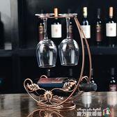 限區歐式紅酒架創意葡萄酒架子復古鐵藝擺件時尚簡約紅酒瓶架 igo魔方數碼館