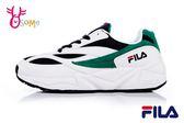 FILA VENOM 94 成人男女款 經典造型復刻 情侶鞋 運動鞋 慢跑鞋 D9907#白綠◆OSOME奧森鞋業