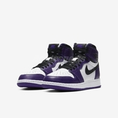 Nike Air Jordan 1 Retro High OG GS Court Purple 白 紫 女鞋 大童鞋 籃球鞋 喬丹1代【PUMP306】 575441-500
