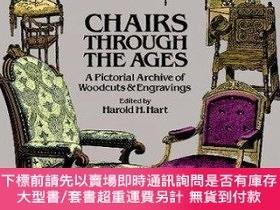 二手書博民逛書店Chairs罕見Through the Ages: A Pictorial Archive of Woodcuts