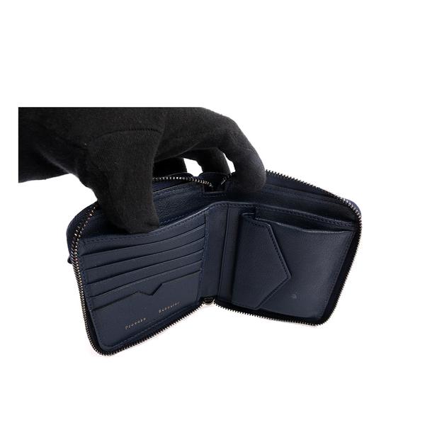 【NG品】【PROENZA SCHOULER】小羊皮 短夾 (午夜藍色) S00001 L001U 5001