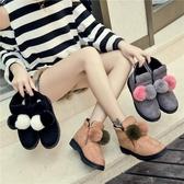 馬丁靴女英倫風短靴秋冬季棉鞋新款女靴子韓版學生百搭雪地靴Mandyc