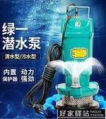 潛水泵家用自吸抽水220V高揚程泥漿機泵小型化糞池抽糞排汙水泵