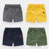 男童短褲子中褲運動純童裝小童寶寶1歲3兒童『快速出貨』