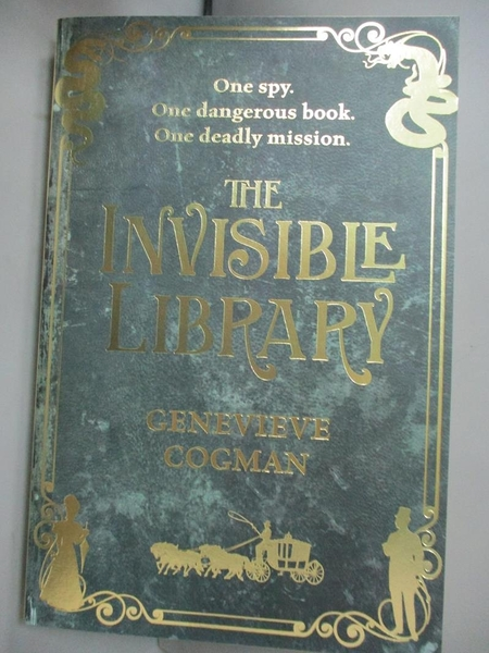 【書寶二手書T1/原文小說_HBW】The Invisible Library (The Invisible Library series Book 1)_Genevieve Cogman