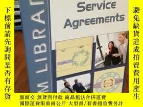 二手書博民逛書店Service罕見Agreements: A Managemen