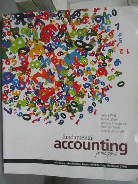 【書寶二手書T8/大學商學_PKT】Fundamental Accounting Principles IFRS_Wil
