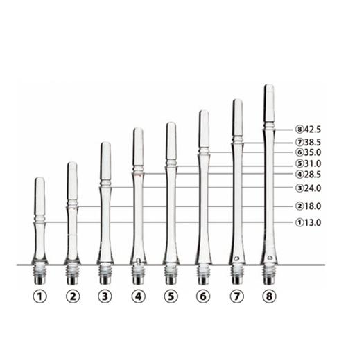【FitEsprit】Gear Shaft Normal Spin Gradation 鏢翼 DARTS