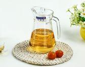 冷水壺-樂美雅冷水壺玻璃涼水壺家用大容量耐熱水壺飲料果汁扎壺水壺 多莉絲旗艦店