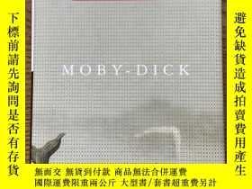 二手書博民逛書店Moby-dick罕見白鯨 Herman Melville 赫爾曼麥爾維爾 Everyman's Library