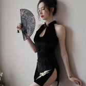 肚兜式內衣情趣服裝誘惑旗袍包臀復古風睡衣女火辣性感成人古裝騷
