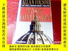 二手書博民逛書店外文原版Allan罕見Folsom Day of Confess