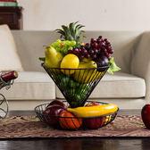 水果搖籃 乾果盤家用兩層多層水果籃客廳創意時尚水果盤現代 歐萊爾藝術館