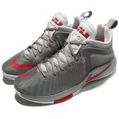 Nike 籃球鞋 Zoom Witness EP 灰 紅 Lebron James 子系列 運動鞋 男鞋【PUMP306】 884277-005