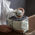 茶具收納袋-奉茗加厚棉麻主人杯單杯收納袋旅行便攜杯套茶杯茶具品茗杯小布袋 東川崎町